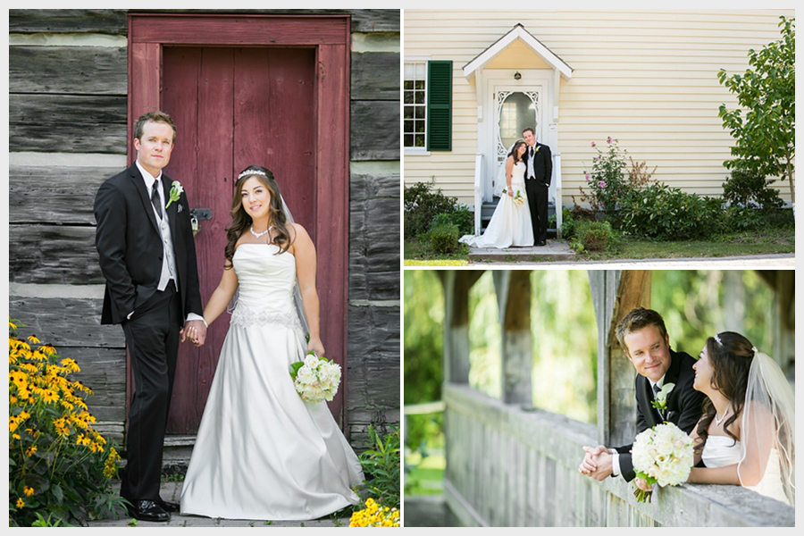 Bride and groom photography at Cullen Gardens