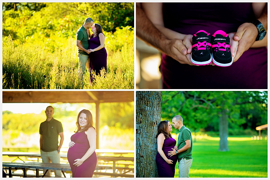 Maternity photography in Ajax