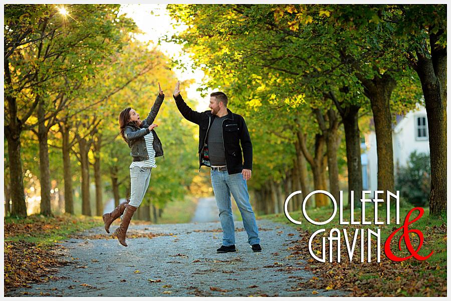 Cullen Gardens engagement photos