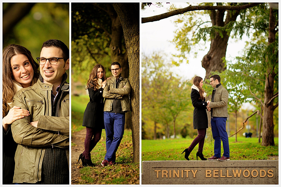 Couples photography at park