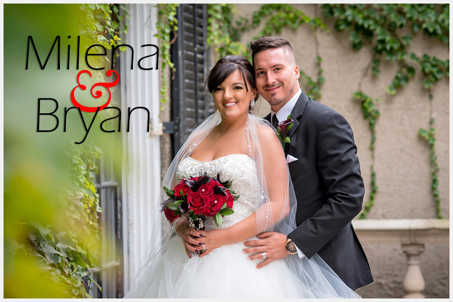 Bride and Groom at Glendon College