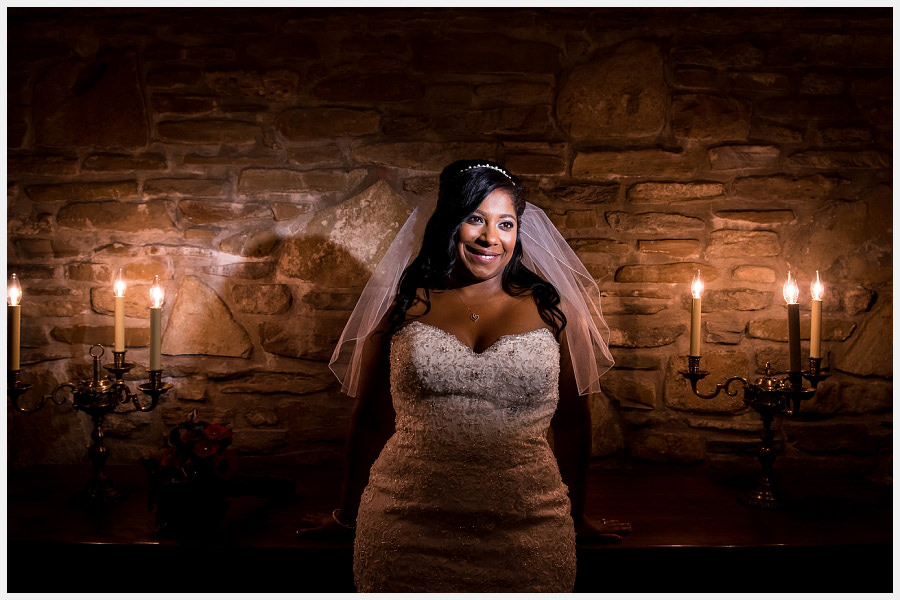 Bride at the Old Mill