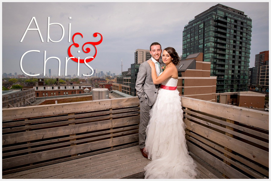 Birde and Groom at the Gladstone Hotel