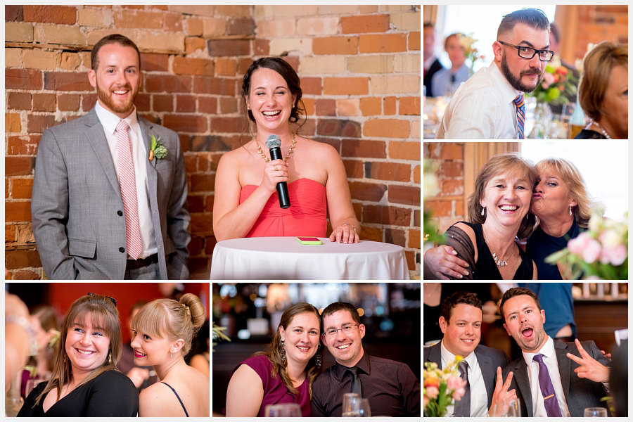 Wedding reception at the Gladstone Hotel