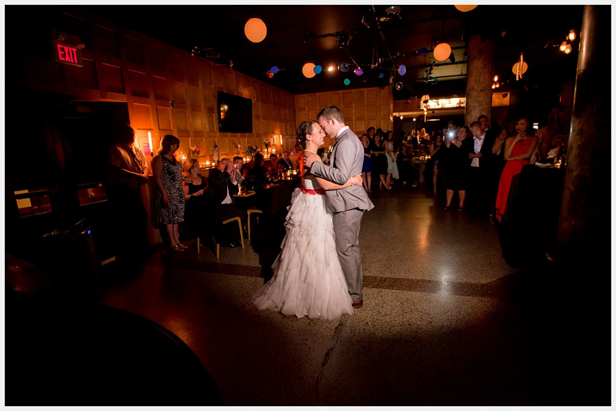 First dance at the Gladstone Hotel